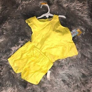 Cat & Jack Summer Outfit Shorts and Top NWT